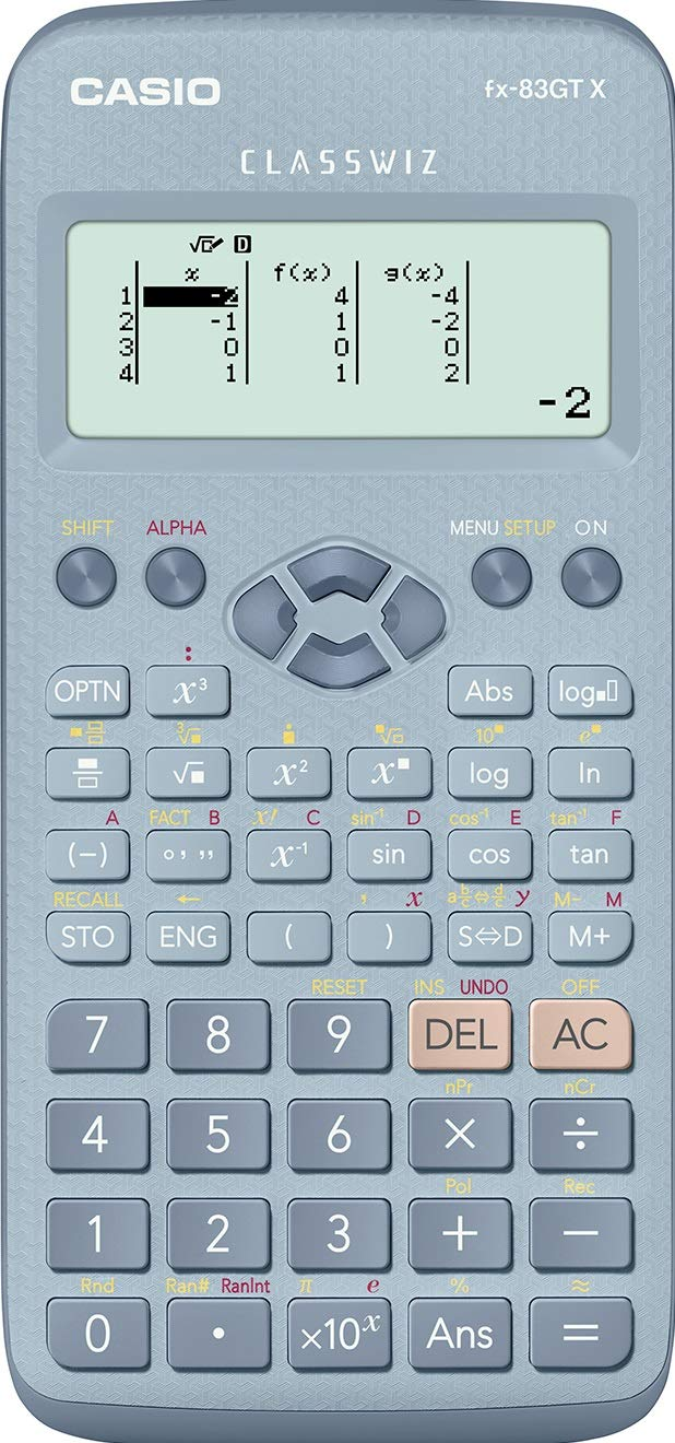 Casio FX-83GT X Blue School Scientific Calculator