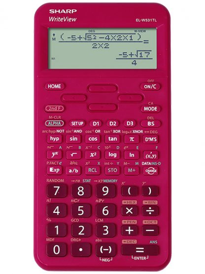 Sharp EL-W531 WriteView School Scientific Calculator